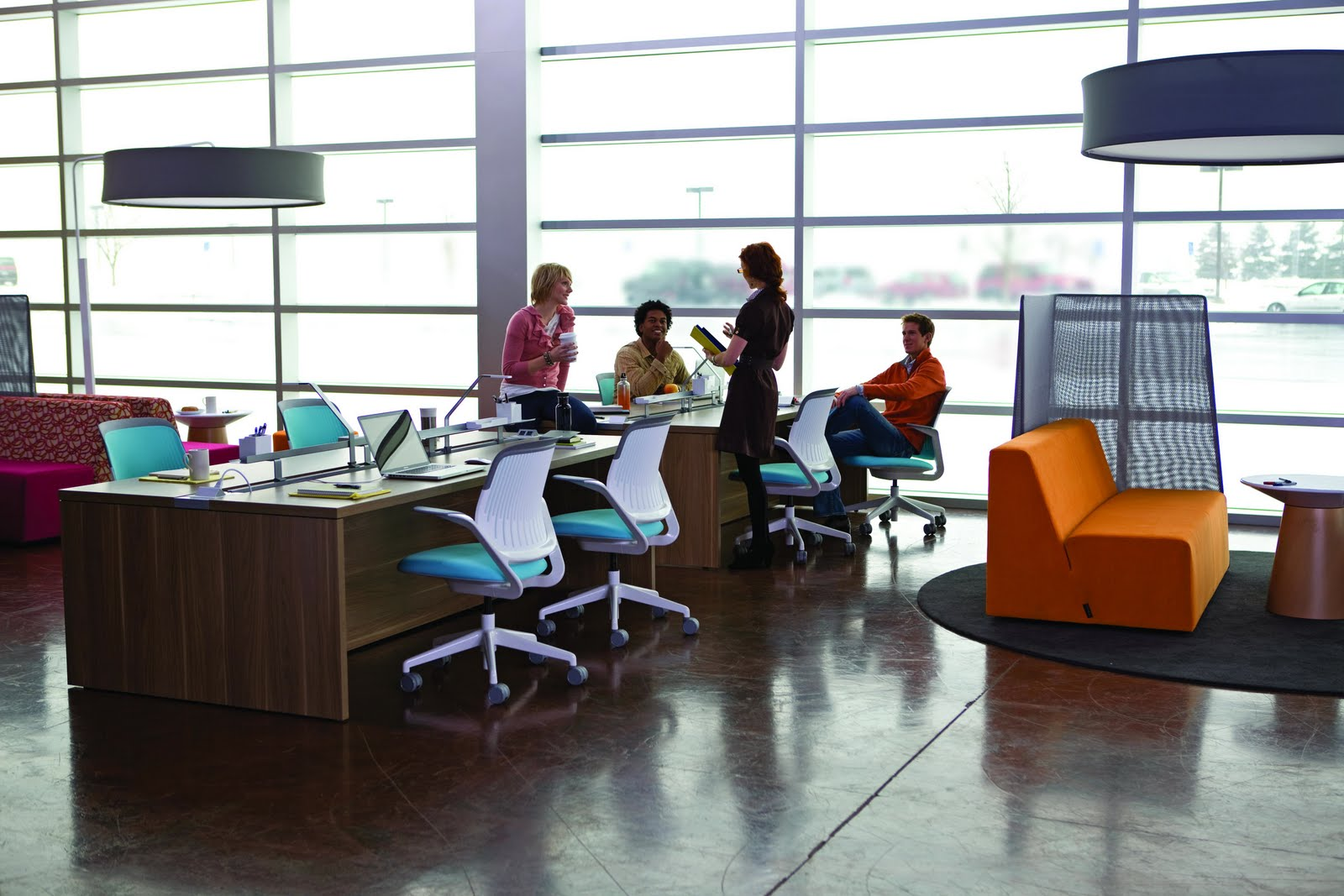to choose the right office furniture - | CONNECT4 | #Home #Design Blog